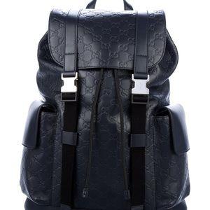 Gucci 2019 Signature Men Backpack